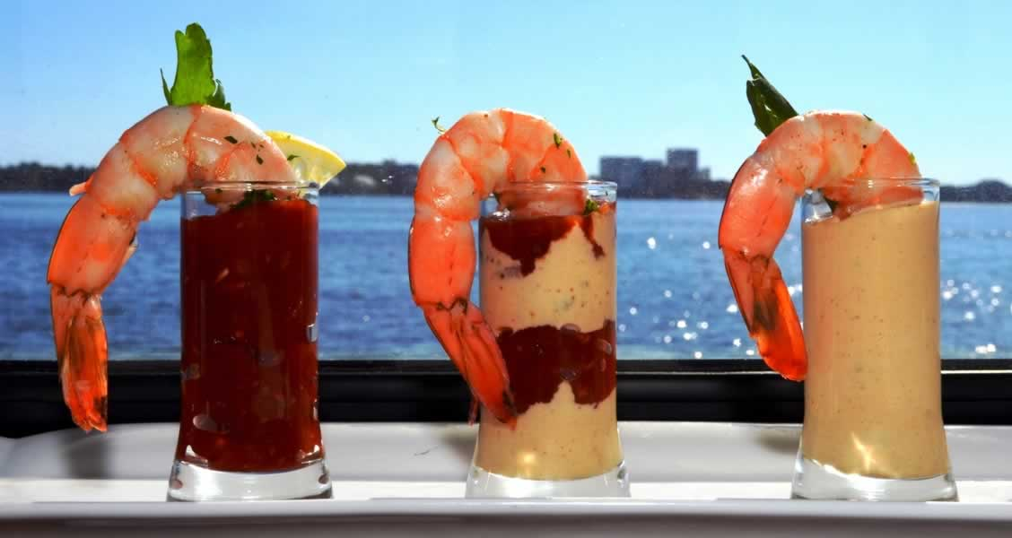 destin florida wedding catering ideas shrimp shooters