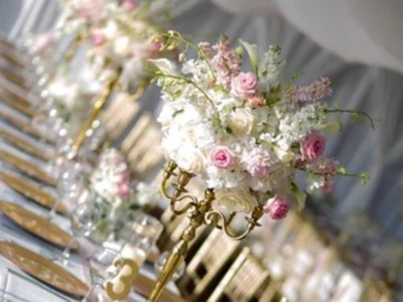 wedding flowers destin fl tall pink