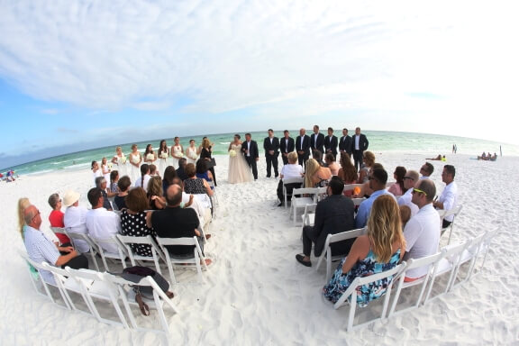 destin beach wedding packages simply
