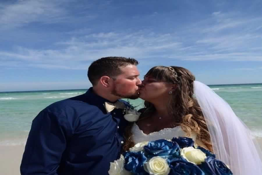 destin beach weddings kiss smiths beach aug