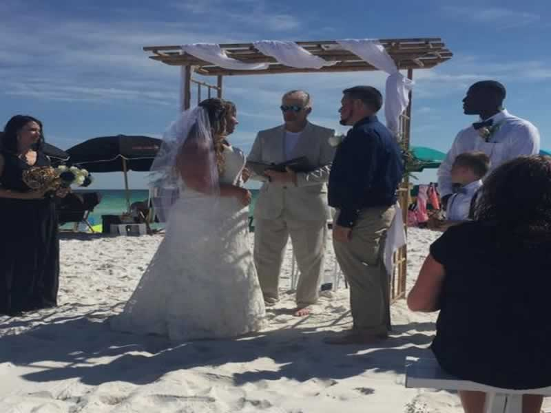 destin beach weddings smith aug