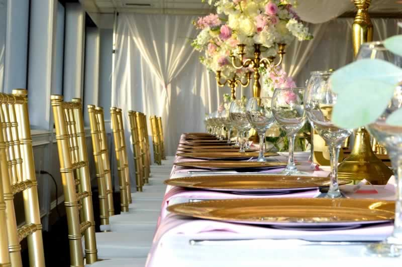 destin sunset yacht wedding venues gold