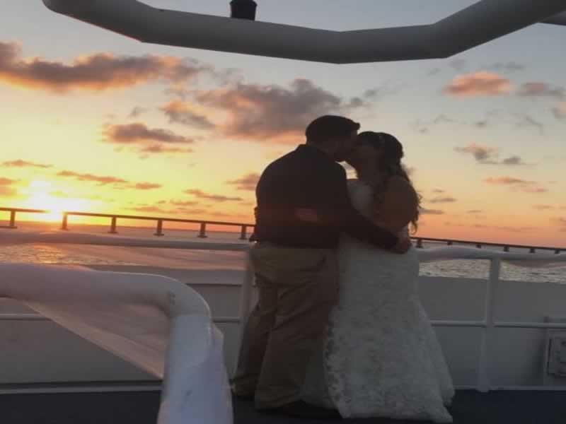 destin weddings sunset kiss smiths aug