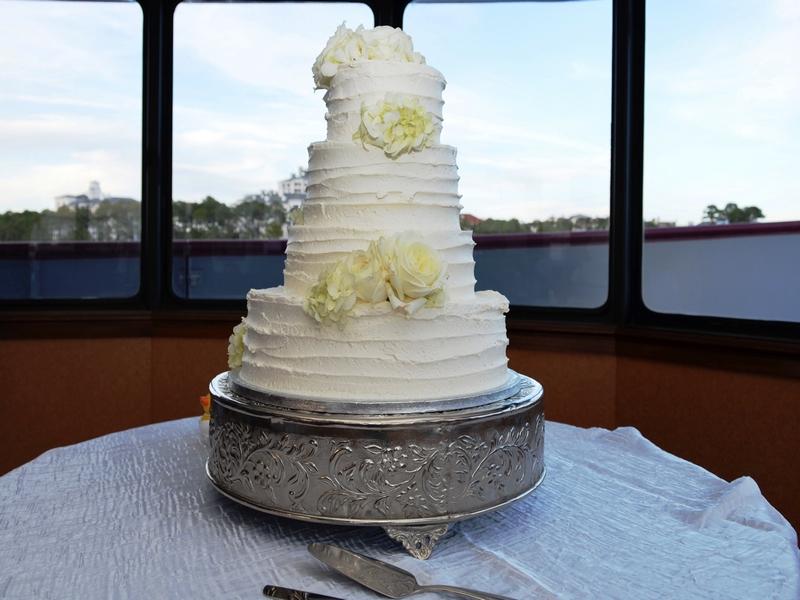 Wedding Cake Destin Fl Murray Reception Solaris 2017 12
