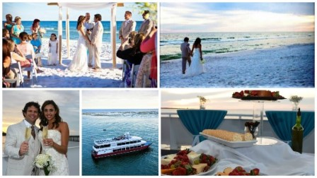 destin beach weddings yacht venue