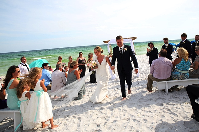 destin beach wedding packages aisle