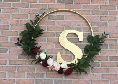 destin florist wedding wreath