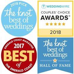 Destin Wedding Venues & Planner Awards | 2018 Knot & Weddingwire