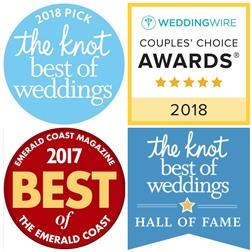 Destin Wedding Venues & Planner Awards   2018 Knot & Weddingwire