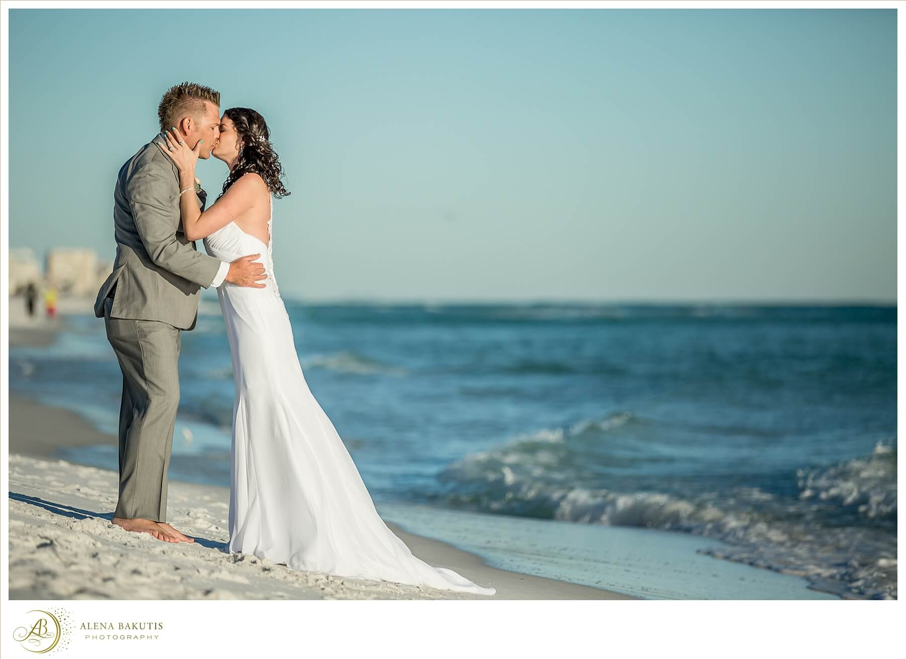 Destin Beach Weddings Alena Bakutis Photography Amber