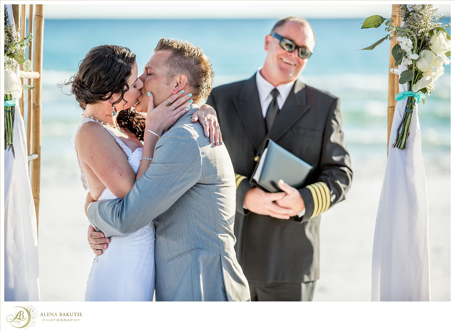 destin beach weddings amber & brandon