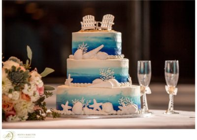 destin wedding cakes Alena Bakutis Photography - Amber Brandon-594_WEB