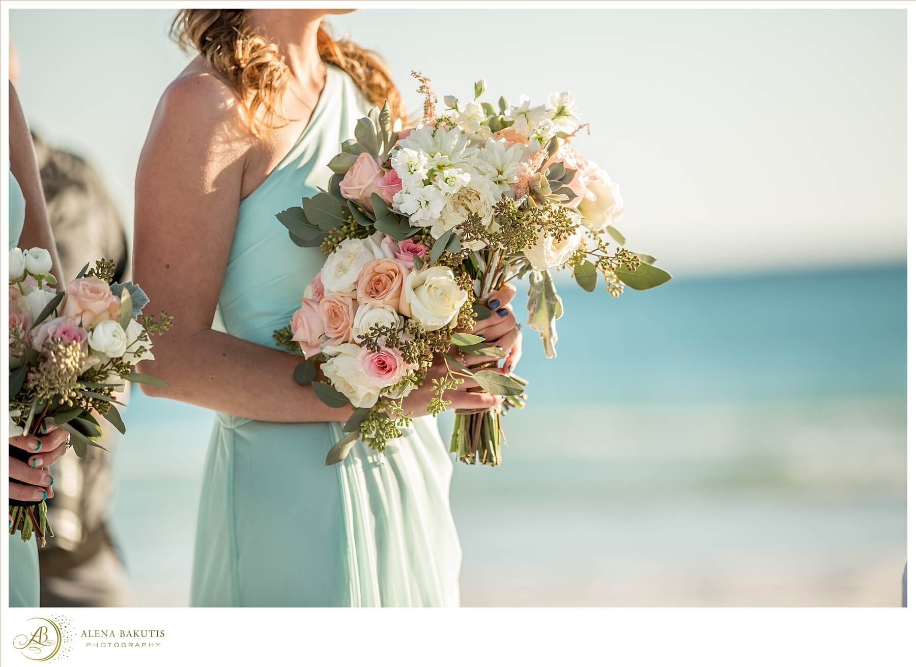 Destin Wedding Florist Alena Bakutis Photography Amber