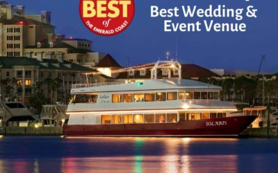 Destin Wedding Venue Feature | Award-Winning SOLARIS Yacht