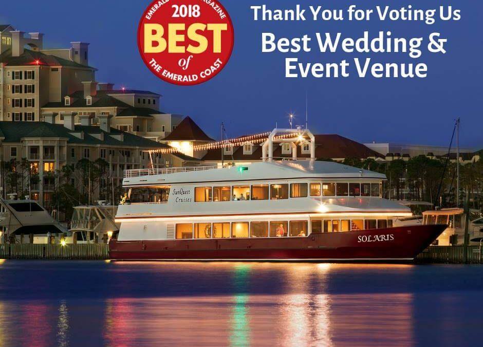 Destin Wedding Venue Feature   Award-Winning SOLARIS Yacht