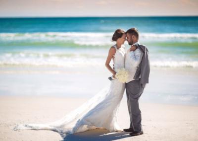 destin beach weddings karley wesley