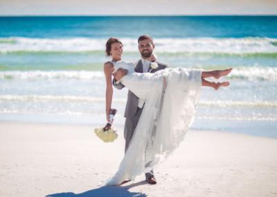 destin beach weddings karley wesley carry