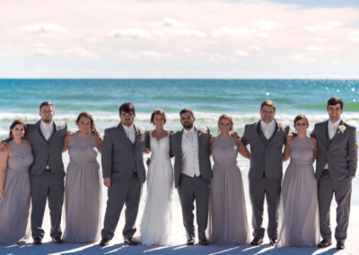 destin beach weddings karley wesley group