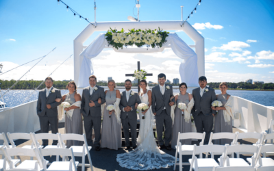 Destin Florida Weddings on SOLARIS Yacht | Wesley & Karley