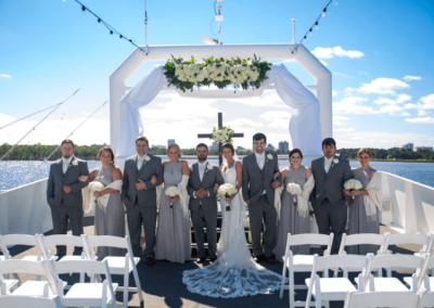 destin fl weddings karley wesley bridal party