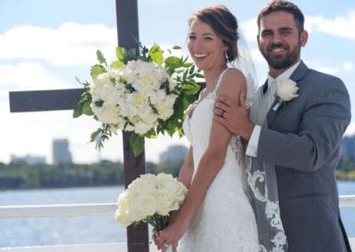 destin wedding flowers karley wesley cross