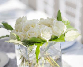 destin wedding flowers white pumpkin karley