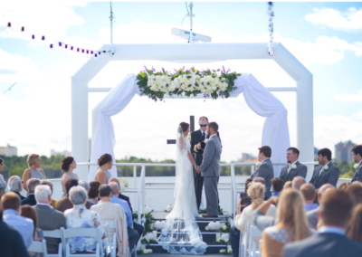 destin wedding venue sky deck wide karley wesley