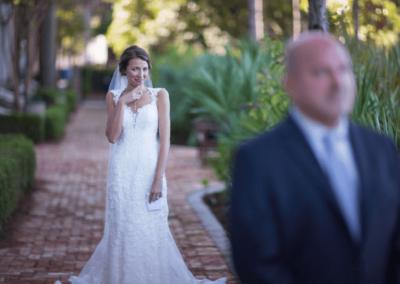 destin weddings karley sneak look w dad