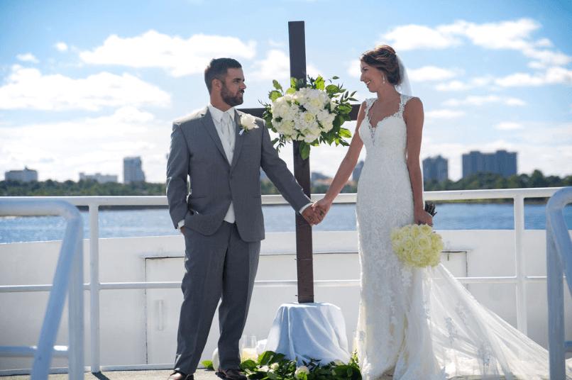 destin weddings karley wesley altar