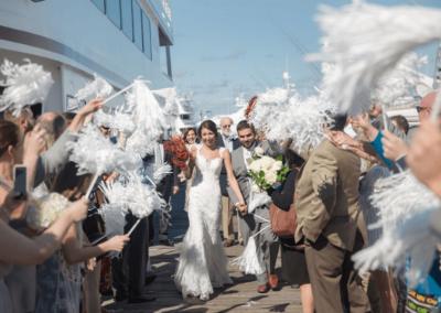 destin weddings pom pom exit karley wesley