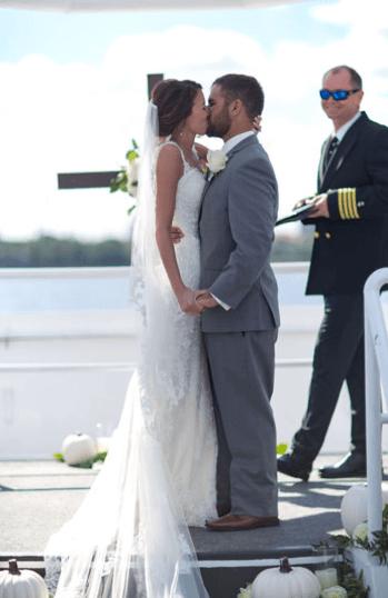 Destin Florida Weddings On Solaris Yacht Wesley Amp Karley