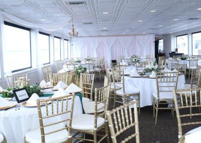 destin weddings eddie and whitney reception tables