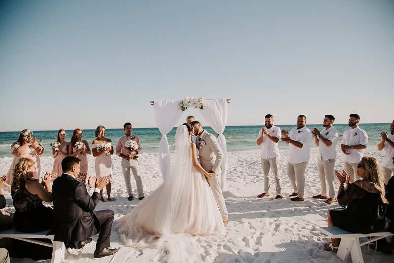 Destin Florida Beach Weddings Featuring Avi + Manny