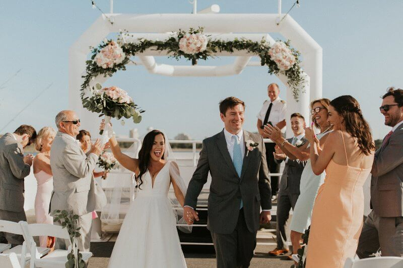 Destin Florida Wedding Featuring Lizzie + Taylor
